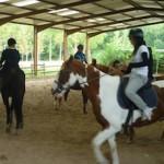 Equitation au Poney Club de la Buissonnière