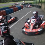 Kart au Circuit de le Boule d'Or - Bournand