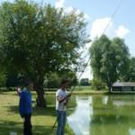 Pêche à l'étang de Guesnes